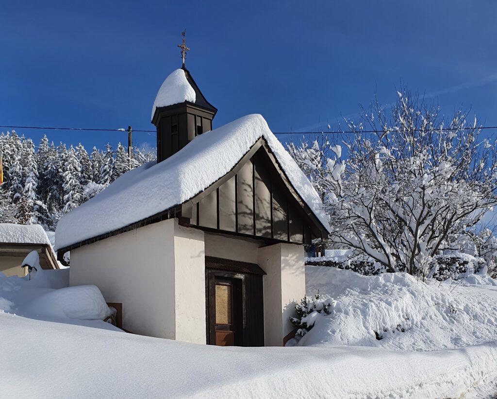 Josenhofkapelle Winter 2021